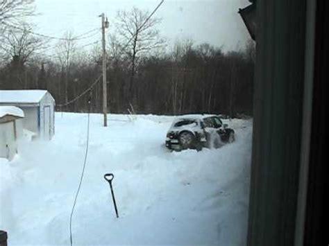 forrester vs rav4 all wheel drive plow through snow bank