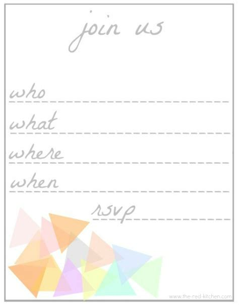 invitation printable templates 6 free printable invitations templates word excel