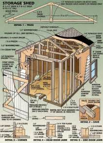 Outdoor Shed Plans by Shed Building Plans 8 215 12 Diy Building A Shed The Ways
