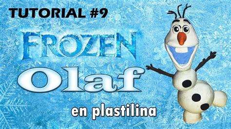 tutorial menggambar olaf frozen tutorial olaf frozen de plastilina youtube