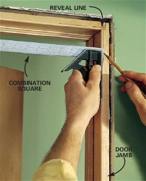 Install Door Jamb by Tight Fitting Miters A Concord Carpenter