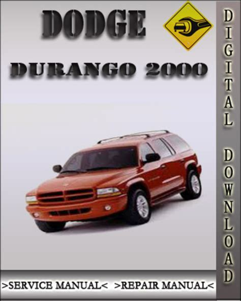 online auto repair manual 2000 dodge dakota lane departure warning dodge durango 2000 factory service repair manuals download autos post