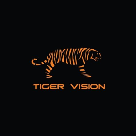tiger pattern logo tiger vision logo design gallery inspiration logomix