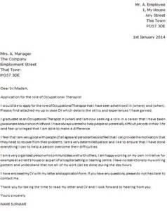 Occupational Therapist Cover Letter by Occupational Therapist Cover Letter Exle Icover Org Uk