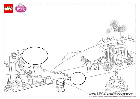 Lego Disney Princess Coloring Pages The Family Brick Lego Princess Coloring Pages Free Coloring Sheets