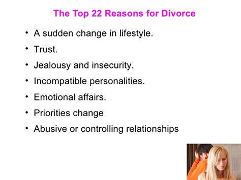 7 Reasons To Get A Divorce by The Top 22 Reasons For Divorce
