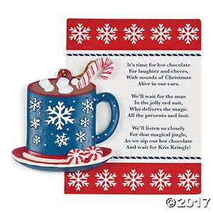 Legend of the hot chocolate ornaments in 13663944 spread the comfort