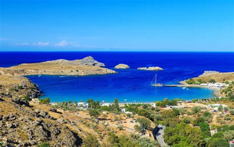 visit kolymbia beach  rhodes greek island