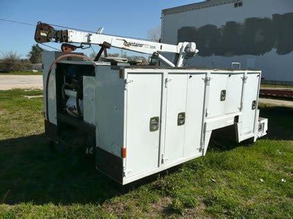 utility bed parts 16 900 maintainer 3220 6k lb auto crane mechanics bed service utility truc for sale