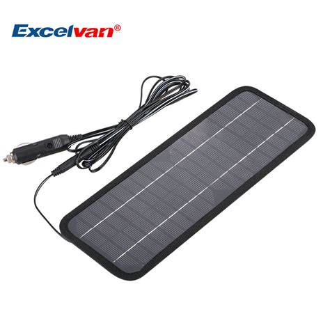 car boat battery charger 12v 4 5w portable solar panel car battery charger for