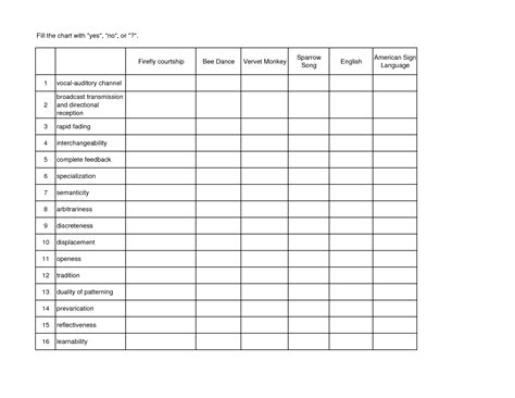 blank chart template fill in blank charts pictures to pin on pinsdaddy