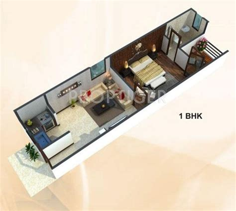 home plan design 550 sq ft 500 sq ft 1 bhk 1t apartment for sale in uday realcon east