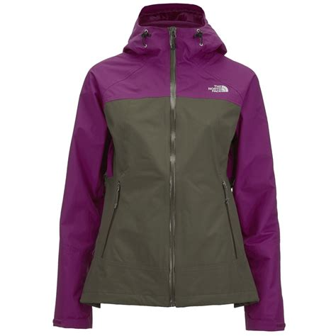 stratos boats clothing the north face women s stratos hyvent jacket new taupe