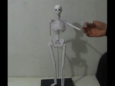 como hacer una maqueta del esqueleto humano sistema oseo 1 maqueta youtube