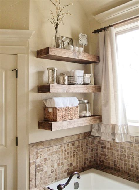 Kitchen Backsplash Diy by Best Bathroom Wall Shelving Idea To Adorn Your Room