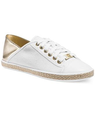 macy s shoes michael kors michael michael kors kristy slide lace up sneakers