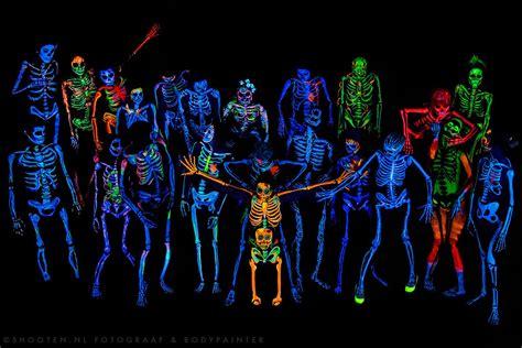 black lights black light skeleton project by syl verberk