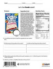 fun nutrition worksheets for kids fooducate