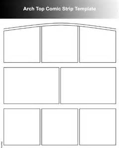 Comic Book Template Pdf by Comic Template Free Word Pdf Format