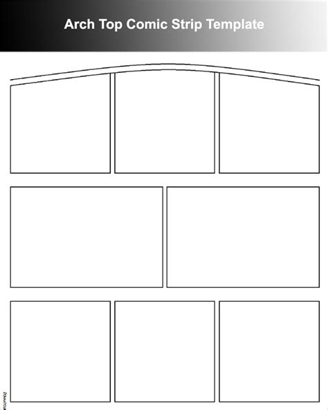 comic strip template free word pdf format download