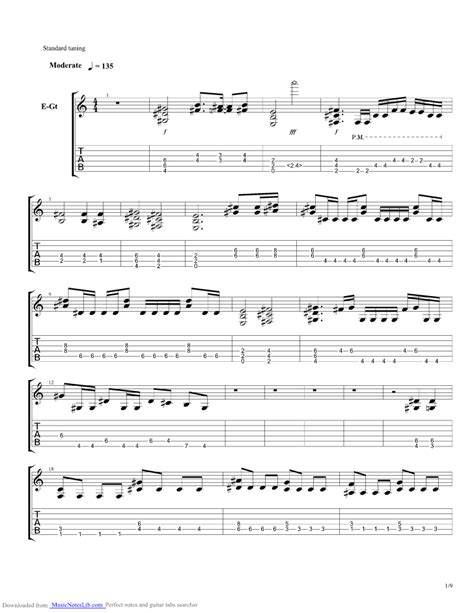 only my railgun guitar pro tab by fripside musicnoteslib