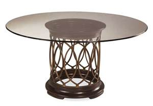 Glass Top Circular Dining Table Intrigue Glass Top Dining Table 161224 2636