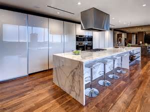 Kitchen Dining Room Living Room Open Floor Plan 7 amazing kitchens to cook for your super bowl guests