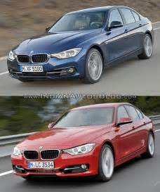 2015 bmw 3 series facelift vs model vs new