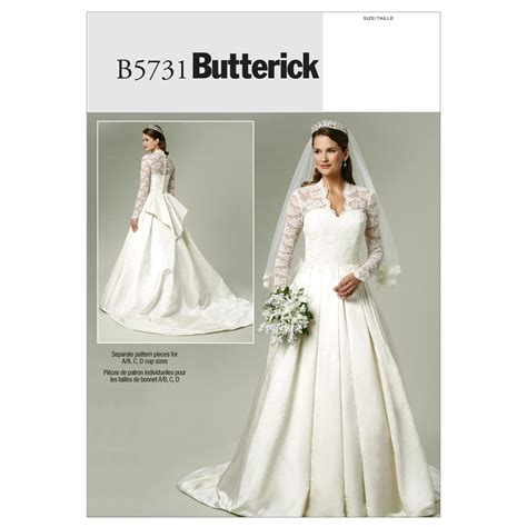 wedding dress pattern making books misses dress royal wedding butterick pattern 5731 sew