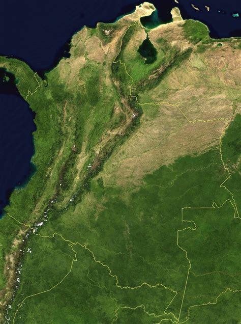 imagenes de venezuela por satelite en vivo mapa de colombia satelital mapa de colombia