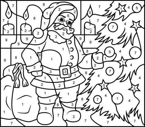 hard christmas coloring pages to print 180 best color by number and dot to dot images on