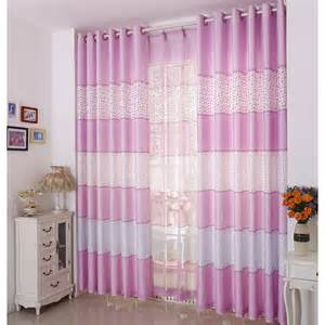 Pink Striped Curtains Designed Pink Striped Curtains For Room