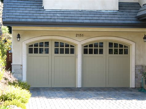 painted garage door carriage house painted garage doors traditional garage