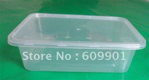 Keranjang Plastik Ring Persegi Panjang 650 ml persegi panjang pakai microwave plastik kotak wadah makanan dengan tutup di dari