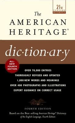 american heritage dictionary 4th edition the american heritage dictionary fourth edition mass