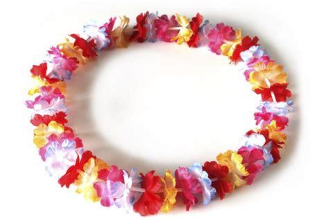 collane fiori hawaiane collane hawaiane fai da te gioielli fai da te collane