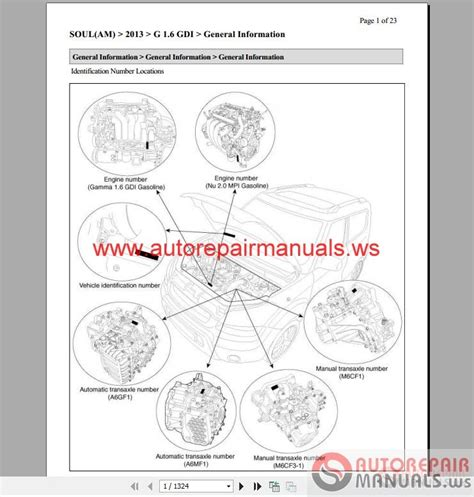 Kia Ceed Workshop Manual Kia Soul 2013 1 6l 2 0l Service Manual Auto Repair