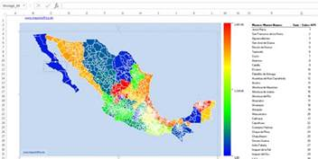 mexico map powerpoint