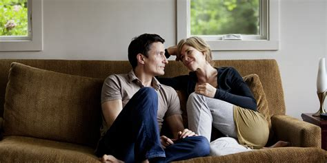 a man and a couch 18 things you must do to make a woman feel better during