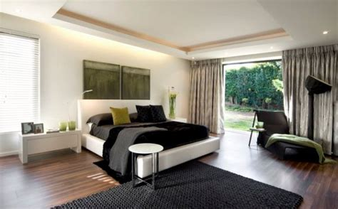 green black and white bedroom decorating with green 52 modern interiors to accentuate