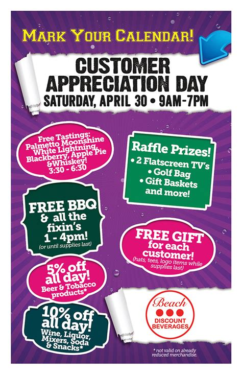 customer appreciation day flyer template customer appreciation bbq flyer related keywords