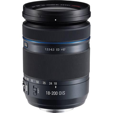 Samsung 18 200mm F 3 5 6 3 Ed Ois samsung 18 200mm f 3 5 6 3 ed ois lens ex l18200mb us b h