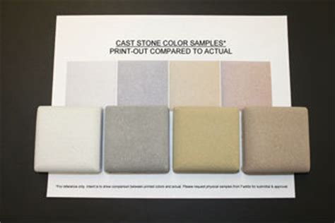 cast color options cast faddis concrete