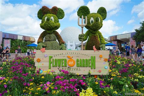 Flower Garden Show New Outdoor Kitchens And Topiaries To Join The 2017 Epcot International Flower And Garden Festival