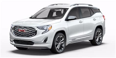 2018 gmc terrain white what colors are available for the 2018 gmc terrain