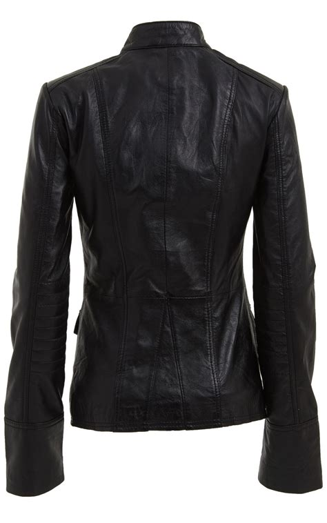 Jacket Style womens style leather blazer jacket womens outerwear leather jacket coats jackets
