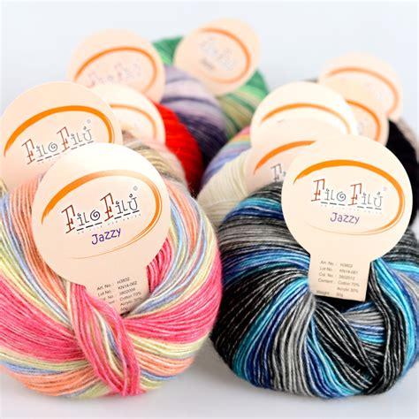 knitting yarn brands filo filu brand baby cotton yarn special offer new fashion