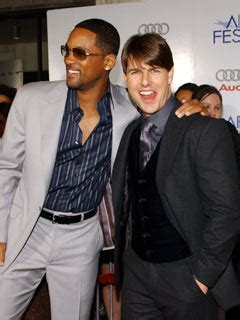 Tom Cruise Gives Will Smith An Award by Tom Cruise Teaches David Beckham And Will Smith How To Use