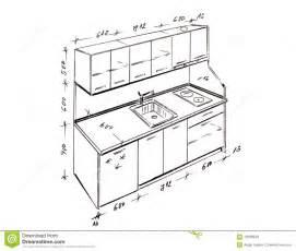 retrait de dessin 224 lev 233 e moderne de cuisine de