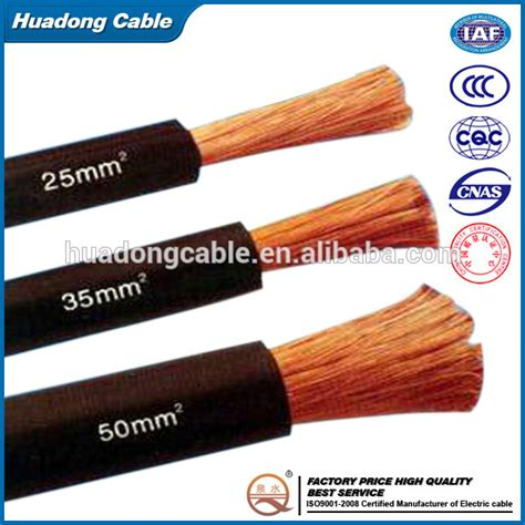 welding cable 35mm2 70mm2 95mm2 copper cca rubber insulation mig welding torch cable
